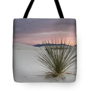Sunset At White Sands Tote Bag