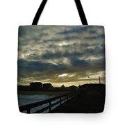 Sunset Avon Pier 1 10/15 Tote Bag