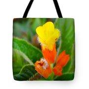 Sunset Bells Flower Tote Bag