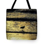 Sunset Bird Tote Bag