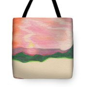 Sunset By Jrr Tote Bag