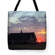 Sunset By The Barn 2 Tote Bag
