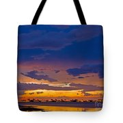 Sunset By The Bay Tote Bag