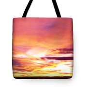 Sunset, Canyon De Chelly, Arizona, Usa Tote Bag