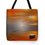 Sunset Charm, 30 Landscape Wall Art Painting Pack  Sunset-sunrise, Evening, Sea, Water, Ocean Etc  Tote Bag