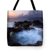 Sunset Churn Tote Bag