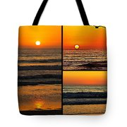 Sunset Collage Tote Bag