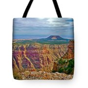Sunset Crater View From Desert View On East Side Of South Rim Grand Canyon National Park-arizona  Tote Bag