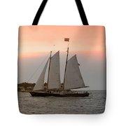 Sunset Cruise Tote Bag