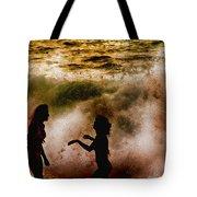Sunset Dance Tote Bag