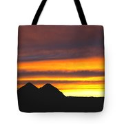 Sunset Death Valley Rectangular Img 0283 Tote Bag