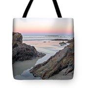 Sunset  Denhams Beach. Tote Bag