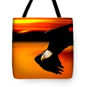 Sunset Dive  Tote Bag