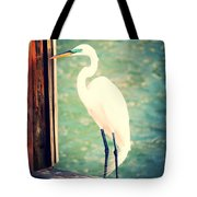 Sunset Dock Visitor Tote Bag