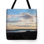 Sunset Dore Mountain Tote Bag