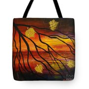 Sunset Tote Bag by Elena  Constantinescu