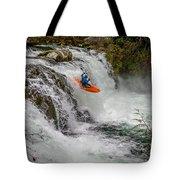 Sunset Falls Tote Bag