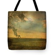 Sunset Farmland Tote Bag