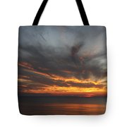 Sunset Fiery Sky Tote Bag