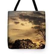 Sunset Fire Tote Bag