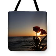 Sunset Flower 3 Tote Bag
