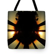 Sunset Folly Tote Bag