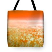 Sunset From Above Tote Bag