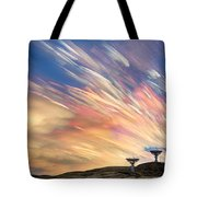 Sunset From Another Planet  Tote Bag