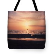 Sunset From Clearwater Beach Tote Bag