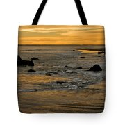 Sunset From Damon Point Tote Bag
