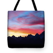 Sunset From Hedrick Pond Tote Bag