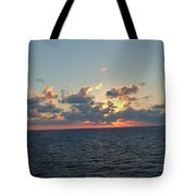 Sunset From The Carnival Triumph Tote Bag