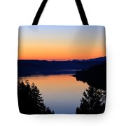 Sunset From The Deck Tote Bag