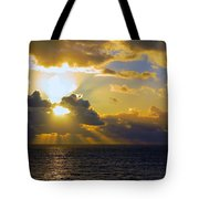 Sunset From The Mumbles Tote Bag