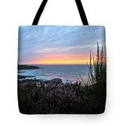 Sunset Garden View Tote Bag