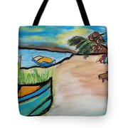 Sunset Getaway Tote Bag