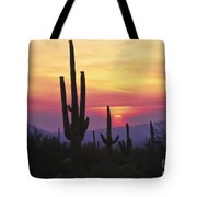Sunset Glory Tote Bag