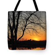 Sunset Glow Toms River New Jersey Tote Bag