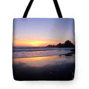 Sunset Gold Big Sur Tote Bag