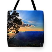 Sunset Grand Canyon Tote Bag