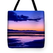 Sunset Great Salt Lake - Utah Tote Bag