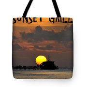 Sunset Grill Don Henley 1984 Tote Bag
