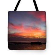 Sunset Handry's Beach Tote Bag