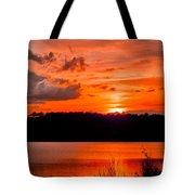 Sunset Huntington Beach State Park Tote Bag