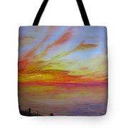 Sunset I Tote Bag