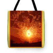 Sunset In A Cup Tote Bag