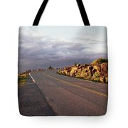 Sunset In Acadia Tote Bag