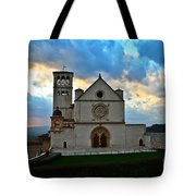 Sunset In Assisi Tote Bag