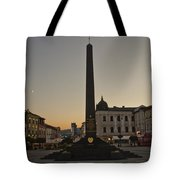 Sunset In B.bystrica Tote Bag