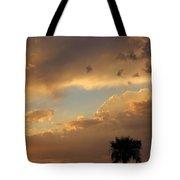 Sunset In California Tote Bag
